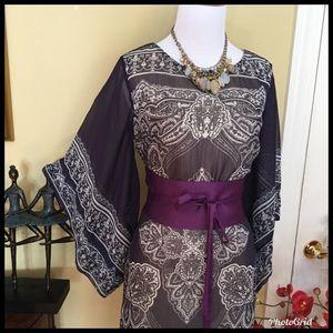 Unique Kimono Inspired Dress EUC